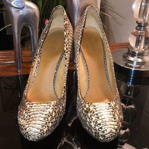 L.A.M.B by Gwen Stefani Reptile Heels 8.5 $425